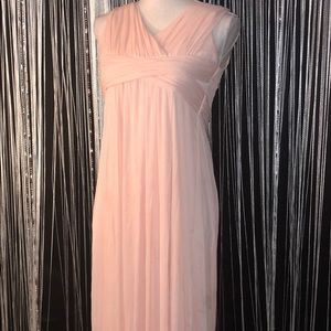 Beautiful Pink Long Gown from David's Bridal